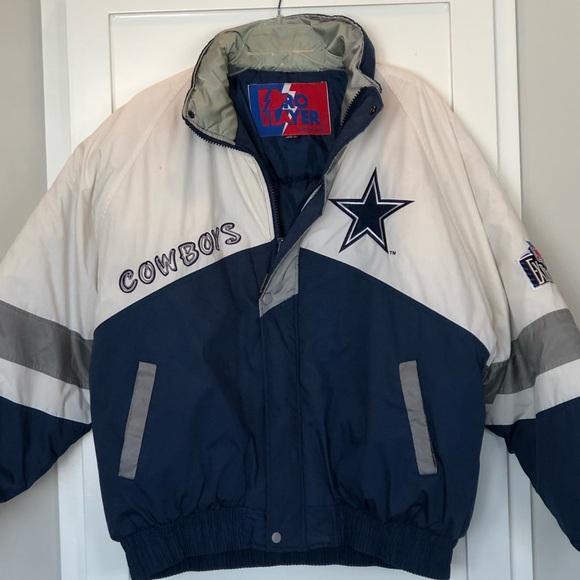 first rate de25e e8f86 Vintage Dallas Cowboys Pro Player jacket
